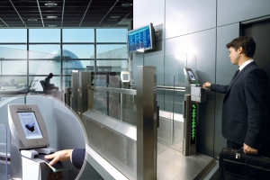 Secure critical infrastructure. Ground control equipment: automatic airport gate